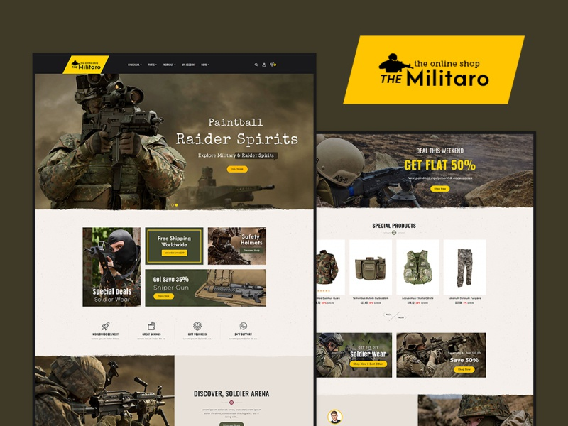 Military armed force equipment