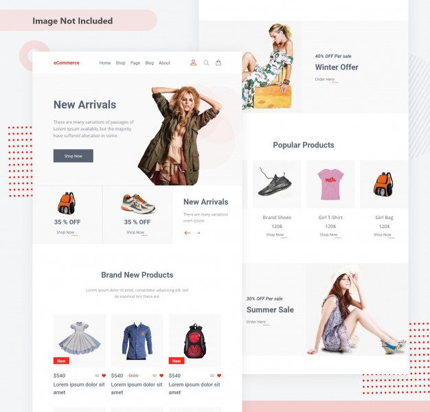 E-commerce shop