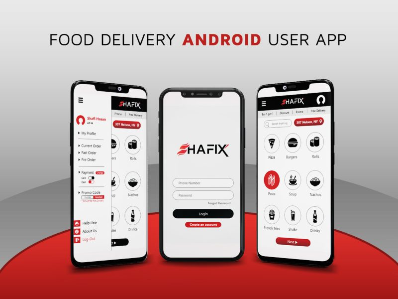 Shafix food delivery