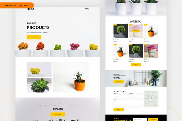 Products website