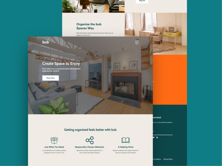 House Product Store Landing Page