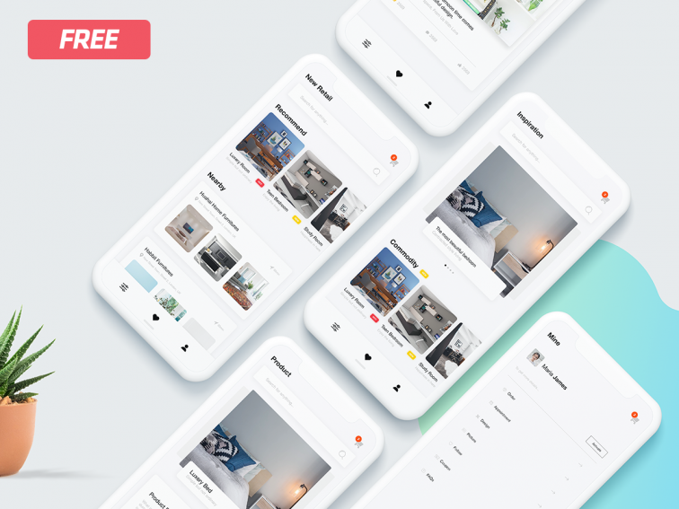 App Shop Ecommerce UI Kit