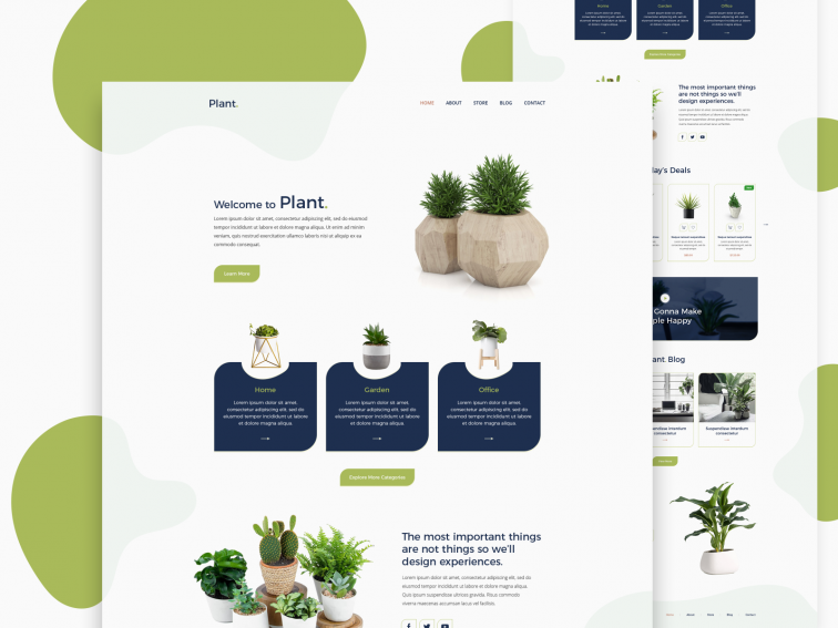 Plant Store | eCommerce Website